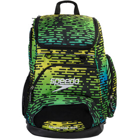 speedo Teamster Backpack L black/blue/green/yellow print